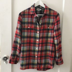 Madewell Flannel shirt Size S